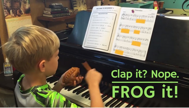 Clap it? Nope – FROG it!