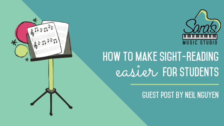 How To Make Sight-Reading Easier For Students