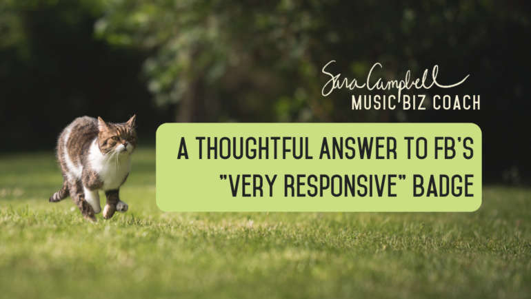 """A Thoughtful Answer to FB's """"Very Responsive"""" Badge"""