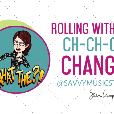 Rolling with the ch-ch-ch-changes!